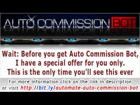 Affiliate software and tools to automate Auto Commission Bot