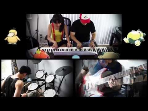 Pokémon Theme - piano/guitar/drums (Instrumental trio ft. lilxsweetz & MusicMike512)