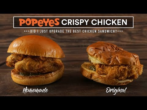 Can Sous Vide Make a BETTER Popeyes Chicken Sandwich?