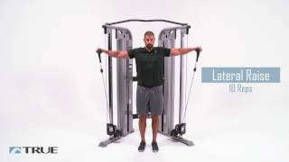 TRUE Workout Series - Functional Trainer Shoulder Workout