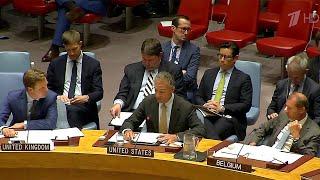 Ракетные испытания Соединенных Штатов Америки обсуждали на экстренном заседании Совбеза ООН.
