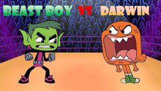 beast-boy-vs-darwin-cartoon-rap-battles