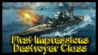 ► World of Warships Gameplay - Destroyer Gameplay - Battleship's Nightmare!
