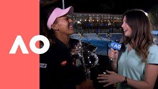 Naomi Osaka championship chats (F) | Australian Open 2019