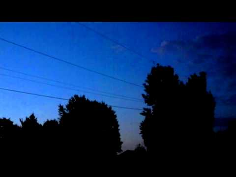 PROOF - UFO Brown County, Ohio (August 27, 2012) Proof these aren't planets or stars