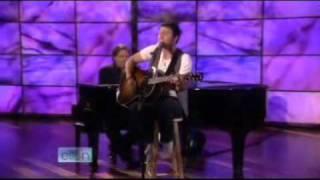 Kris Allen — No Boundaries Acoustic — Ellen DeGeneres