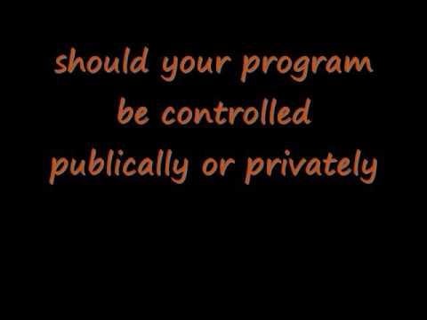 social programs progect