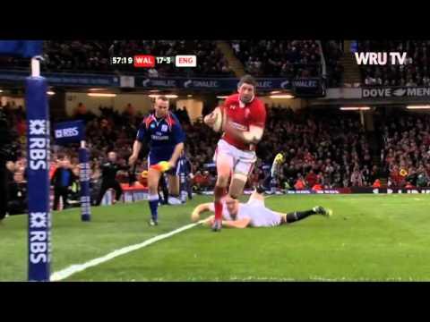 Wales v England 2013 Highlights | WRU TV