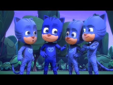 PJ Masks Super Pigiamini Gattoboy al quadrato Nuovi Episodi   Cartoni Animati