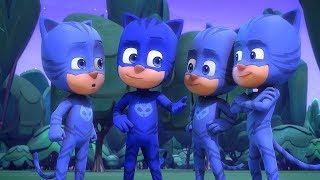 PJ Masks Super Pigiamini Gattoboy al quadrato Nuovi Episodi | Cartoni Animati