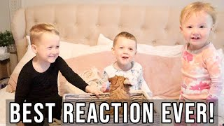 SURPRISING OUR KIDS WITH A PUPPY // QUARANTINE WITH KIDS // BEASTON FAMILY VIBES