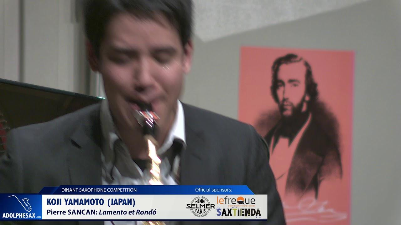 Koji Yamamoto (Japan) - Lamento et Rondó by Pierre Sancan (Dinant 2019)