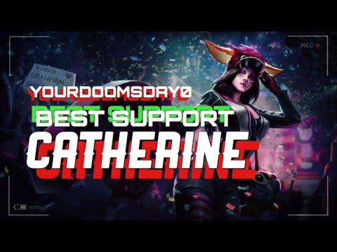 CRAZY STUN CHAINS + MOST OP BROKEN SUPPORT CATHERINE - VAINGLORY 5V5 RANKED TIPS