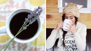 Fresh Lavender And Mint Tea