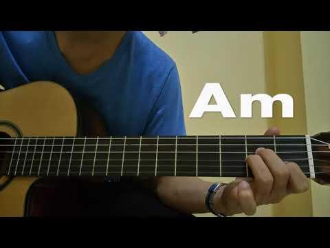 belajar gitar - nada dasar G