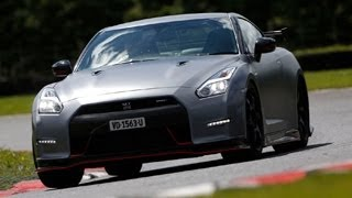 Nissan GT-R Nismo driven on road and track