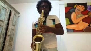 Aprendendo sax alto