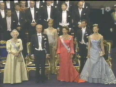 The royal family at the Nobel Prize in 2003