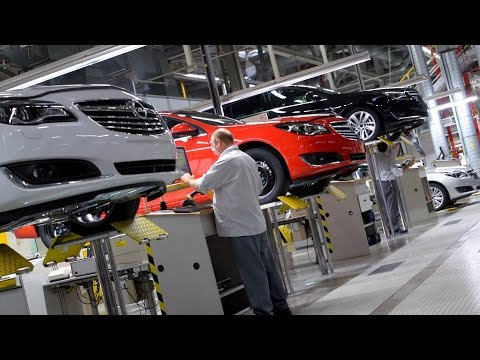 Opel Insignia Production Line, Rsselsheim
