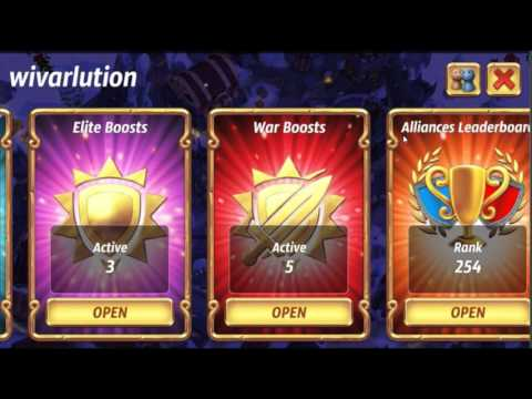 Max Level Knights Lv 14 Forged Speed Royal Revolt 2 + Monk