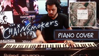 The Chainsmokers - Closer ft. Halsey (PIANO COVER)