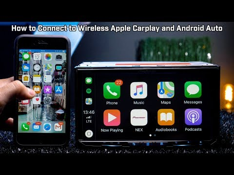 How to Connect Wireless Apple Carplay and Wireless Android Auto