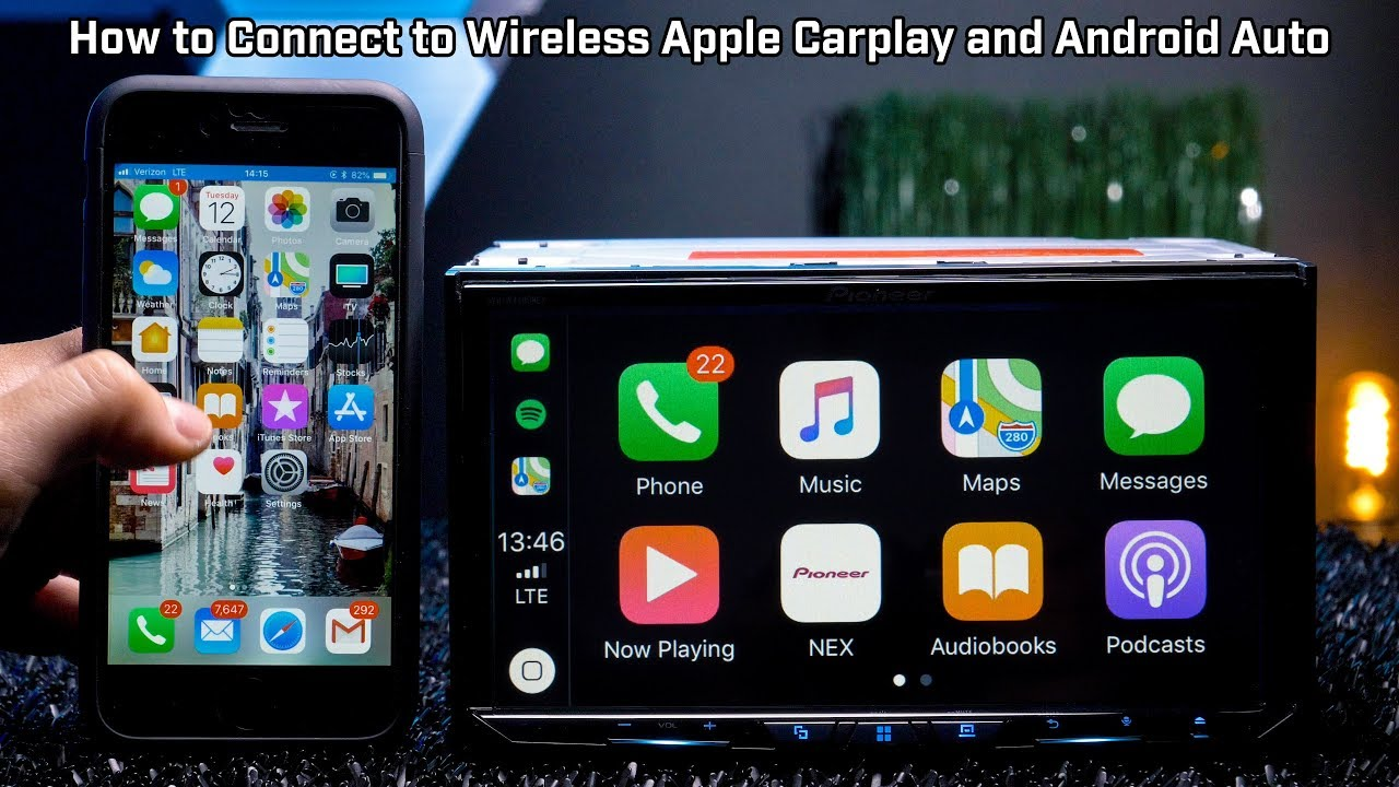 how to connect wireless apple carplay and wireless android. Black Bedroom Furniture Sets. Home Design Ideas