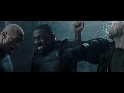 Чёрный супермен VS Хоббс и Шоу \ Форсаж: Хоббс и Шоу Fast & Furious Presents: Hobbs & Shaw