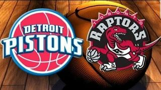 Detroit Pistons vs Toronto Raptors Pregame