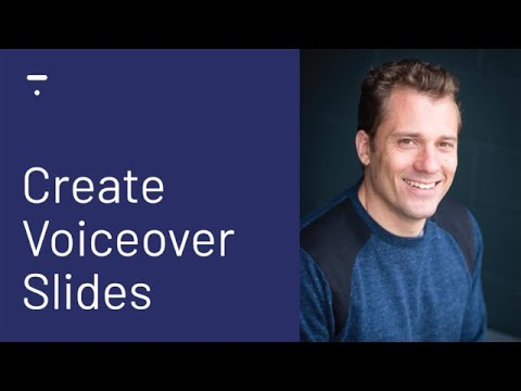 How To Create Voice Over Slides For Your Online Course