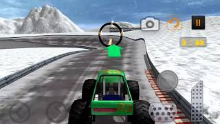 Snow 4x4 Monster Truck Stunt