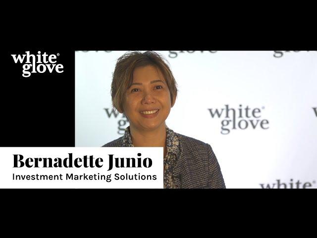 Bernadette Junio | White Glove Testimonial