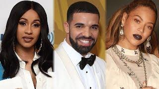 Cardi B, Drake, Beyonce & Jay Z LEAD 2018 MTV VMA Award Nominations