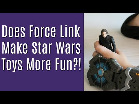 Star Wars Force Link Toy Review - Mom's Thoughts and Kid Demo
