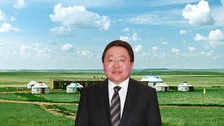 Exclusive with Mongolian president on global cooperation, climate change