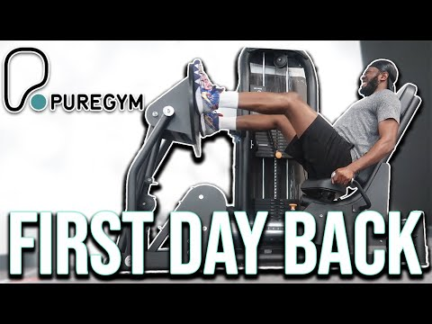 First Day Back In The GYM   Fitness Vlog (Puregym)