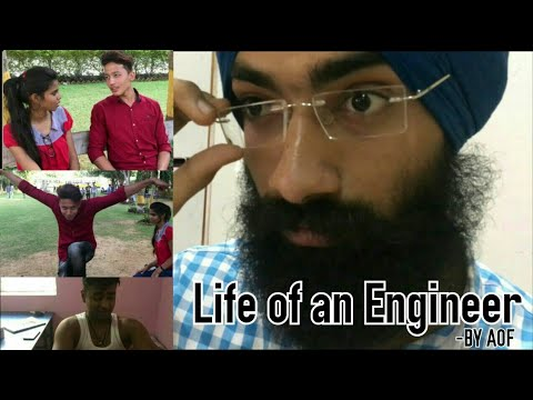 life of an engineer -most funny video - a short film by AOF