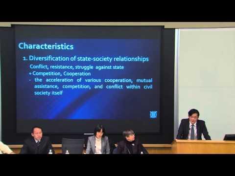 Civil Society in Korea - Jeong Jong-ho
