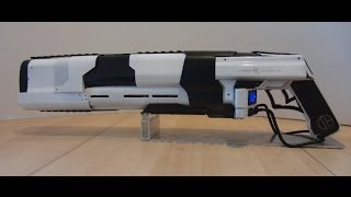 CO2 Laser Rifle Prototype Mk I BURNING GLASS, MELTING ICE (Directors Cut)