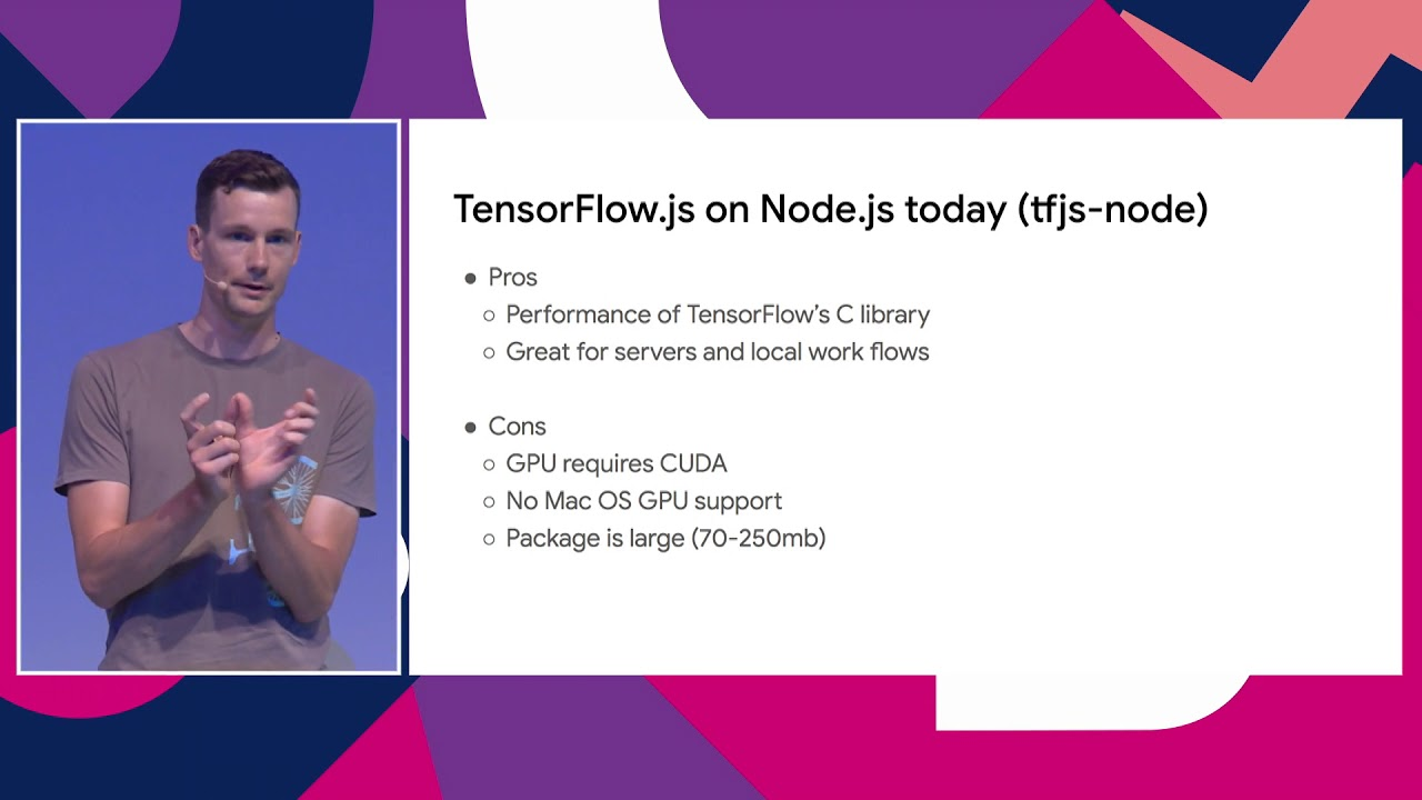 TensorFlow js Bringing Machine Learning to the Web and Beyond by Nick  Kreeger & Nikhil Thorat