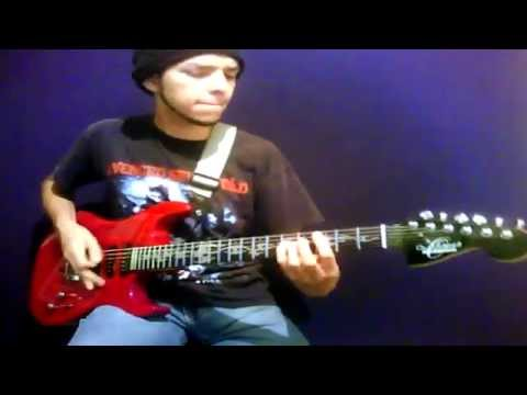 Writhe In Pain  - Guilty Gear OST Guitar Cover - Night Child - Metal from Chihuahua, Mexico