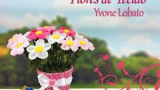 Yvone Lobato – Flores de Tecido