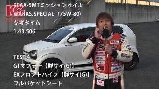 KCテクニカ 新型アルトワークス[HA36]5MT パーツ装着・開発テスト thumbnail