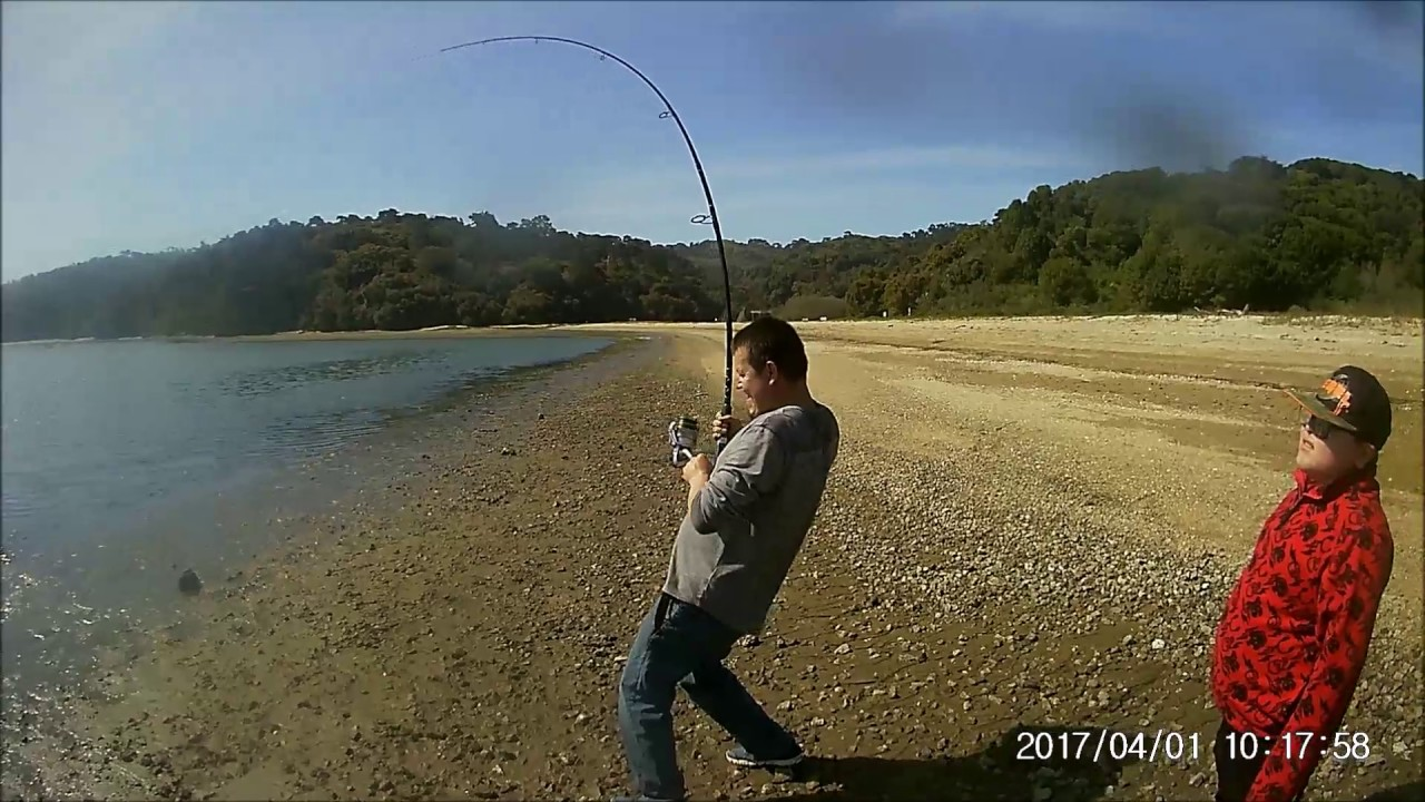 first fishing trip 2017 tomales bay youtube