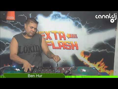 DJ Ben-Hur - Funk 80 / Cool - Programa Sexta Flash - 19.01.2018