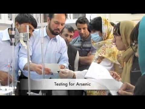 Lab Quality Control for Water Laboratories. Training course in Kabul