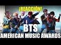 ¡BTS - DNA American Music Awards 2017! REACCIÓN