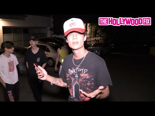 Jaden Hossler, Bryce Hall & The Sway House Confront Chase Hudson At The Hype House Mansion 7.6.20 - The Hollywood Fix