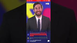 HQ Trivia - Thursday, October 19, 2017 12pm PDT - Full Game