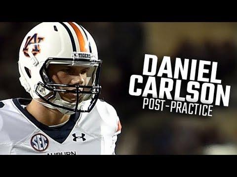 Auburn kicker Daniel Carlson recaps fall camp